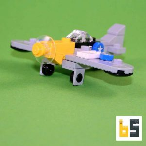 """North American P-51D Mustang """"Detroit Miss"""" – kit from LEGO® bricks"""