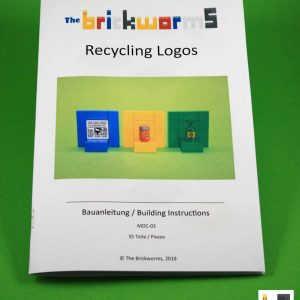 Instructions for: recycling logos from LEGO® bricks